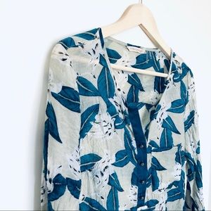Soft Surroundings Gillian Floral Tunic